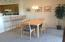 Easy Pass through from Kitchen to Dining area