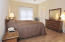 Extremely spacious and light filled master suite