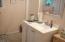 Bath in entry level