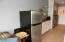 Refrigerator and Kitchen cabinets