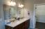 Master bath in model home