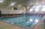 Cabana indoor heated pool