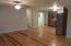 Open floor plan. Cool floors!