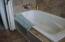 Whirlpool Tub w/Tile Surround