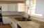 New backsplash, new granite countertops, new light fixtures