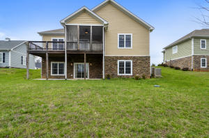 Great Back with Deck, Screened Porch and Large Patio