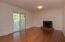 Newly refinished hardwood floors throughout entry level