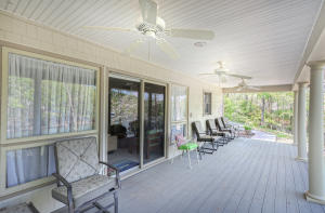 Enter into great room from lakeside Porch