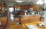 Kitchen, modern appliances stay, quality wood floors