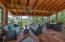 Rear Screened porch w/ View to North