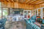 Screened Porch Grill & stone work