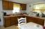 Kitchen in rental