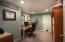 Basement also offers storage space