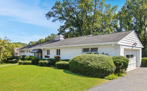 Mid-century modern! Well-maintained 1955 3BR 2.5 BA brick ranch.