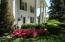 "Gorgeouse ""Ante-Bellum"" front porch with beautiful plantings"