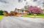 Carport & oversized driveway
