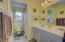 Main level Hall Bath with Separate Entrance to Master Bedroom 2