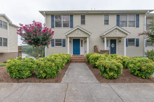 Smith Mountain Lake Townhouse with deeded covered boat slip and sundeck just steps from unit.