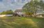 Backyard view of home