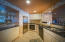 Full kitchen in the lower level of the home