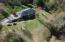 Aerial of back view of home