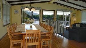 Great Room with Dining Area and Direct Views of Smith Mountain and the Lake
