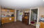 Kitchenette on Lower Level with Refrigerator, Range/Oven & Microwave