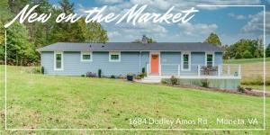 1684 Dudley Amos RD, Moneta, VA 24121