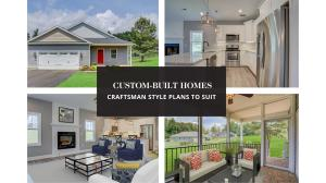 Custom Built Craftsman Style Home to Suit