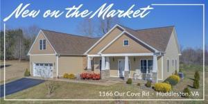 1166 Our Cove RD, Huddleston, VA 24104