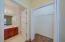 2nd Closet in Master Bedroom Suite