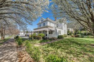 Set on a lovely tree-lined street