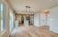 greatroom into kitchen