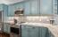 Stainless steel appliances throughout kitchen!
