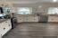 New granite countertops and tile backsplash