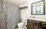 Bathroom in lower level.