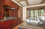 Kitchen with Sub Zero, refrigerator and freezer draws, Dual Zone Wine Cooler, ice maker, wolf cook top - list in documents