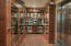 Pantry with walk-in cooler