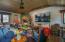 Media area of recreation room
