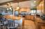 Larger open kitchen.