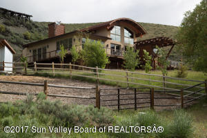 Perched on a hillside for incredible views