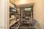 Large pantry downstairs for extra storage