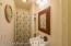 Bathroom 2 - Shower and sink