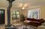 Living room - Note brand new Craftsman front door