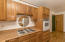 The kitchen offers a separate cook top and oven. The interior of the home has been newly repainted.