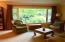 Picture window offers fabulous greenery and light