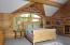 Master Bedroom suite-upstairs loft