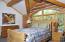 Master Bedroom suite -upstairs loft