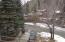 Year-Round Flowing Warm Springs Creek is across the street