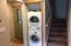 Stack Washer & Dryer with New Water Heater